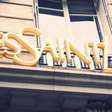 Luxury fashion house YSL (Yves Saint Laurent), one of world's famous fashion brands, choose our products for its energy efficiency reduction program
